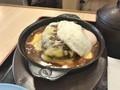 [松屋]松屋 チーズエッグビーフハンバーグステーキ定食 税込み950円 1338kcal