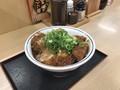 [かつや]かつや 鶏つくね味噌カツ丼 税込み637円
