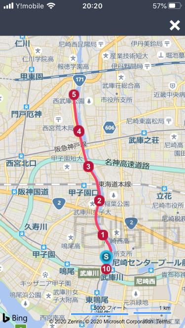 武庫川ランルート0418