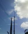 [空][雲][電柱]電柱