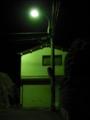 [電柱][夜][街灯]街灯