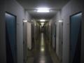 [夜][廊下][建物]廊下
