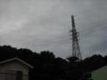 [空][鉄塔][雲]鉄塔