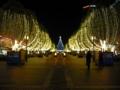 [夜][街]クリスマスの電飾