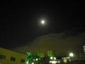 [夜][月][空][雲]月