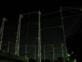 [夜][建物]フェンス