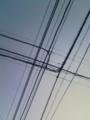 [電線][空]電線