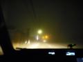 [街][夜][霧]河口湖近辺