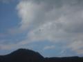 [空][山][雲]パラグライダー