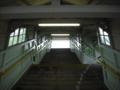 [鉄道][階段]上牧駅