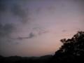 [空][夕方][雲]夕空
