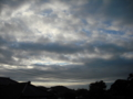 [空][雲][電線]空