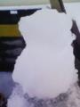 [雪][物]雪だるま