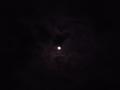 [夜][月][空][雲]月と雲