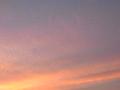[夕方][空][雲]夕やけ雲