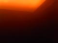 [飲み物][物]ほうじ茶越しの蛍光灯