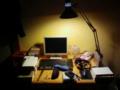 [物][夜]自分の机周りを晒そう