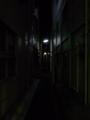 [街][街灯][夜]夜の路地