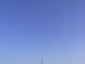 [空][建物][飛行機]アンテナ