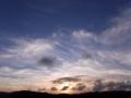 [夕方][太陽][空][雲]夕空