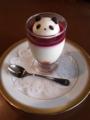 [菓子]レアチーズのパンダ