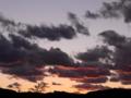[空][雲][夕方]夕雲
