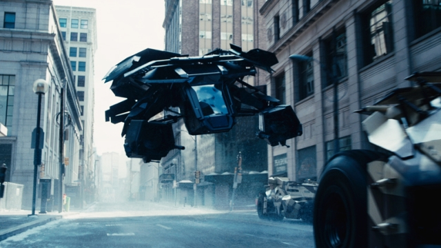 batman flying vehicle