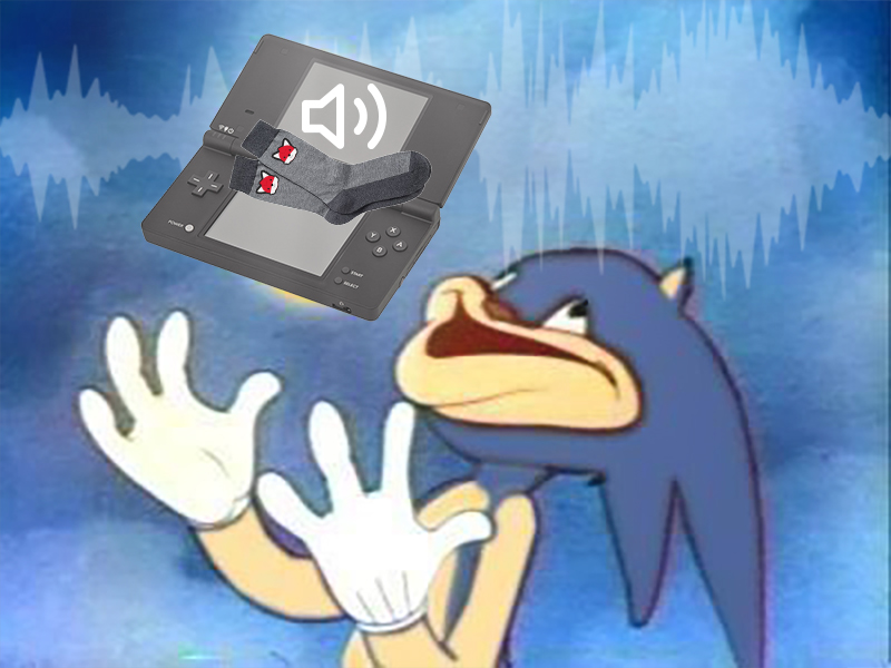 Sonic with a DSi