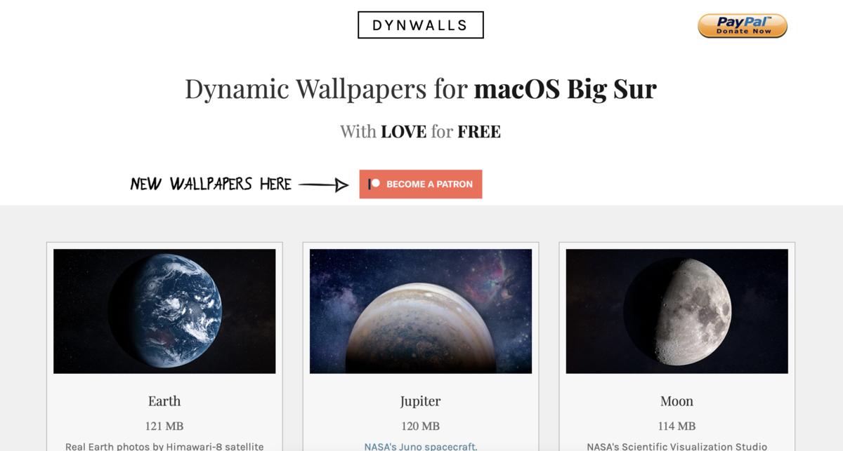 dynwallsのトップ画像