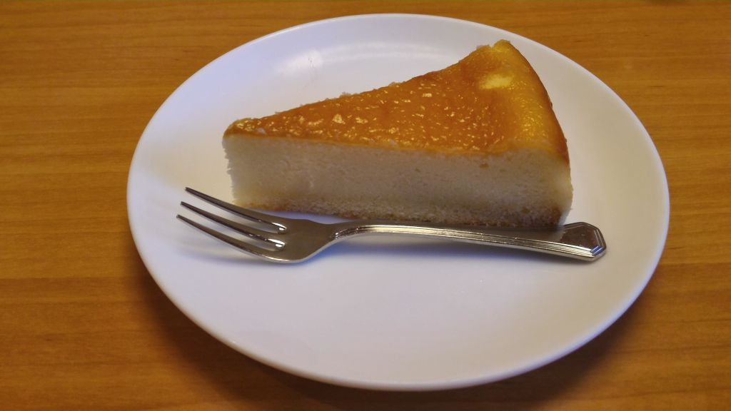 ステーキ宮守谷店 - チーズケーキ