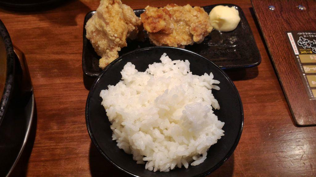 二代目てらっちょ水海道店 - ランチ唐揚げセット