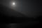上高地の満月