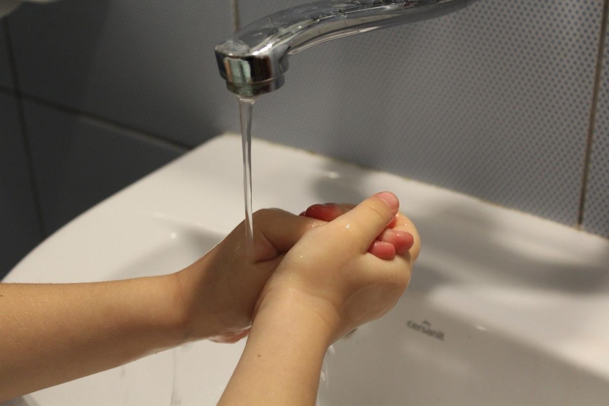 手洗い ウイルス対策