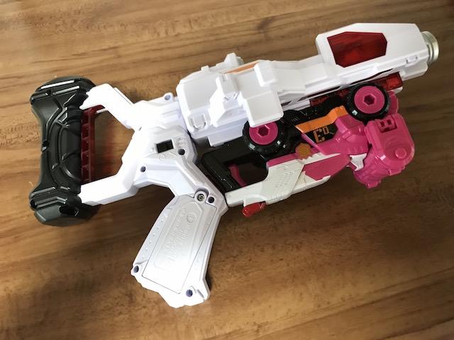 快盗戦隊ルパンレンジャーVS警察戦隊パトレンジャー ダブル変身銃 DX VSチェンジャー