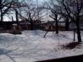 多治見の雪はこれ位