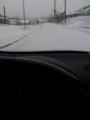 久し振りの雪中ドライブ