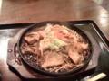 今日は生姜焼き定食