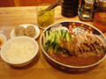 支那麺 はしご 溜池山王 太肉涼麺 焼売