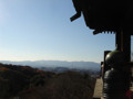 京都タワー 清水寺 清水の舞台より