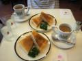 イノダコーヒ三条店 ハムサンド チーズサンド コーヒー