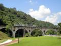 遠野市 道の駅みやもり めがね橋