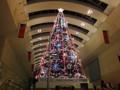 横浜 クイーンズスクエア クリスマスツリー