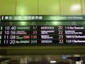 東北新幹線 東京駅