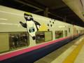 東北新幹線 ペンギンラッピング
