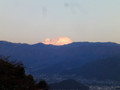 20121107 雲 夕焼け