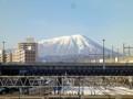 20121229 岩手山 盛岡駅