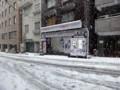 都心 積雪 20130114