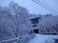 ホテル三右エ門 雪景色