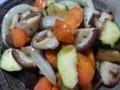 野菜のノンオイルドレッシング炒め