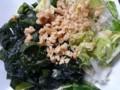 野菜と生ワカメのサラダ